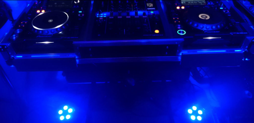 Uplighting DJ Sound2Light.nl
