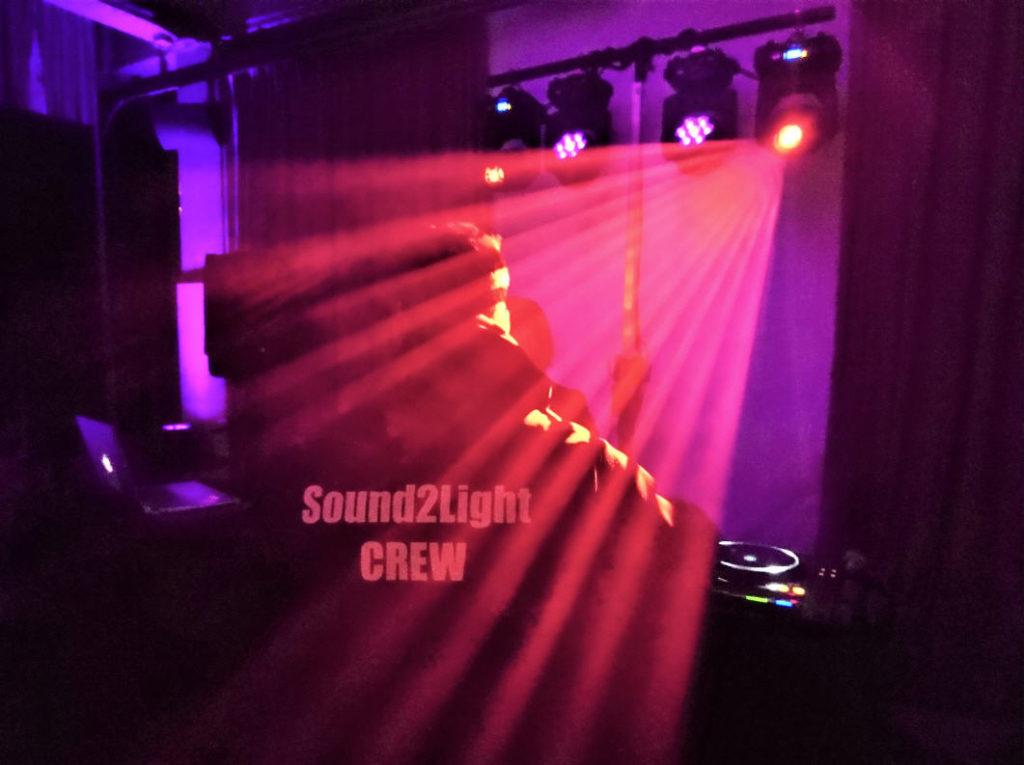 Sound2Light Lichtshow