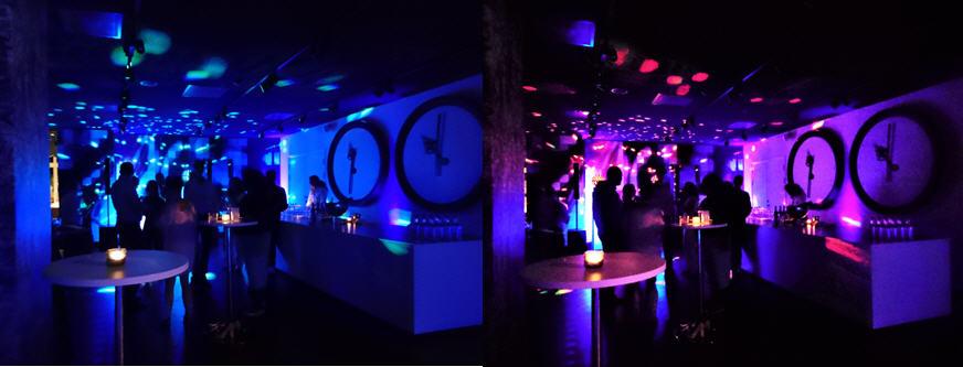 Uplighting als onderdeel van een Lichtshow Sound2Light
