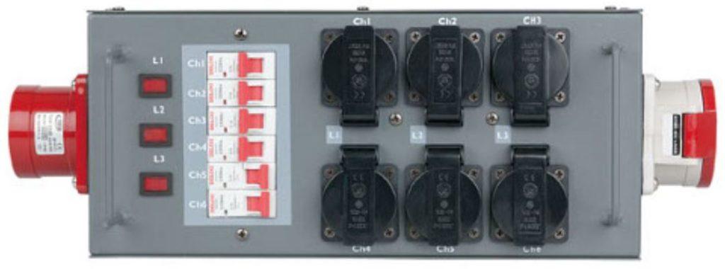 Krachtstroom Verdeelkast 32A Kabel Huren