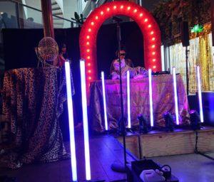 Astera LED Pixel Tubes huren amsterdam sound2light