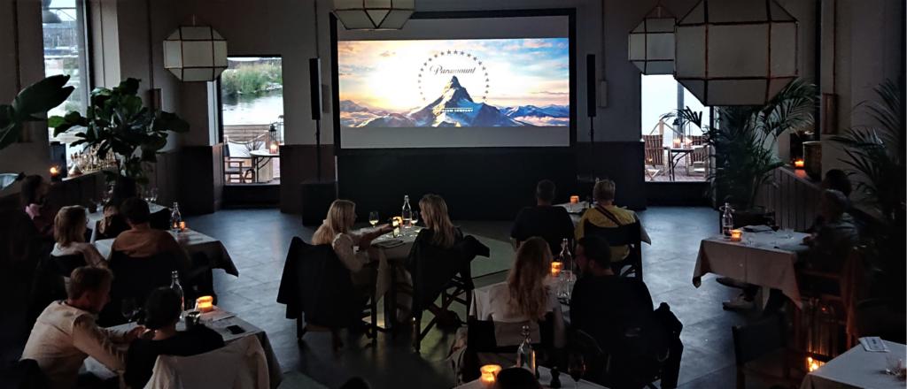 Indoor Cinema Beeld en Geluid Huren Amsterdam Sound2Light