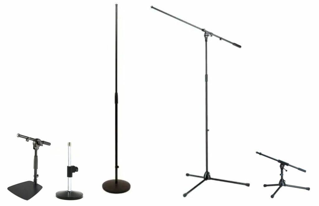 K&M Microfoon statieven huren amsterdam Sound2light